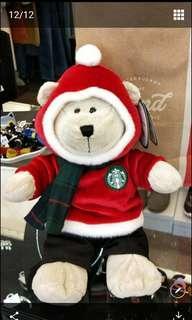 🚚 2018 限量 星巴克聖誕熊
