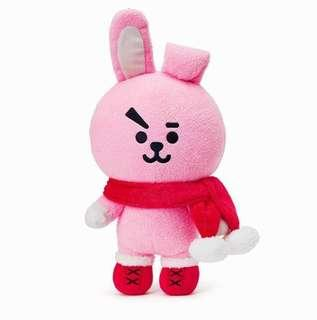 BTS BT21 COOKY CHRISTMAS LIMITED EDITION STANDING DOLL