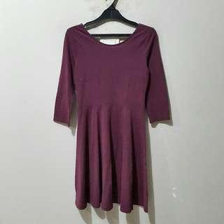 H&M Purple Pum Dress