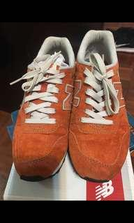 New Balance 996橙色運動鞋US6.5