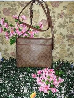 Coach File Bag