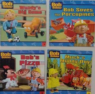 英文圖書 4本 Bob the Builder
