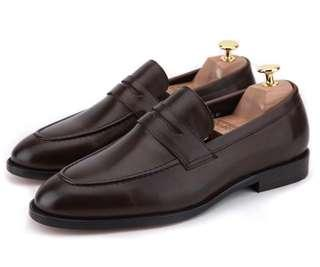 [Brand New] Earnest and Collective Penny Loafers