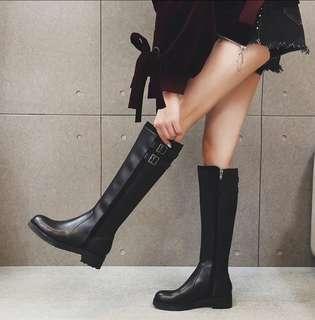 全新 冬季女裝長筒靴 Black Boots