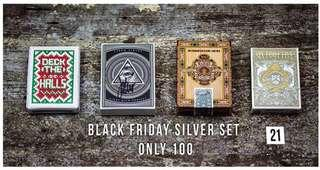 🚚 Kings Wild Project Black Friday Silver Set