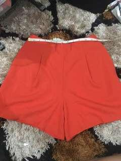 Red shorts for Christmas!