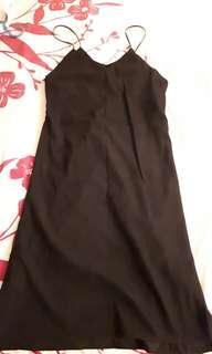 #MY1212 Black Long Dress (READY STOCK)