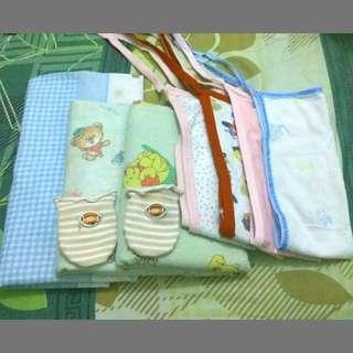 Paket hemat bedong popok bayi