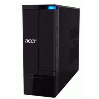 Acer Slim Small Casing Desktop + MS Office