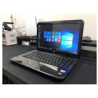 HP Quad Core Gaming Laptop + MS Office + 3GB Graphics !