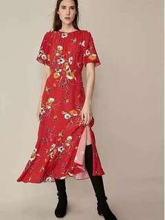 Flower Dress / Korean dress
