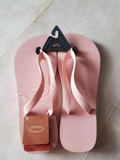 Authentic Havana Pearl Pink Slippers