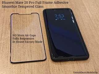 🚚 Huawei Mate 20 Pro Full Glue Smoothie Tempered Glass