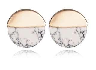 Marble earring