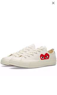 163232bfbe6d Commes Des Garcons PLAY X Converse Chuck taylor