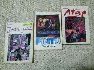 Trilogy Jendela-Pintu-Atap by Fira Basuki