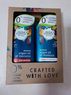 Herbal Essences Repair Argan Oil of Morocco Shampoo & Conditioner