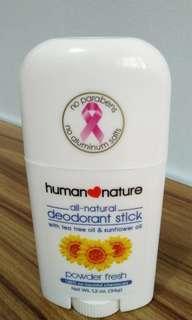 Human Nature All-Natural Deodorant Stick