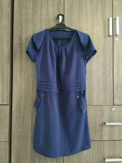 Blue Casual Dress #MY1212