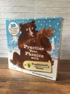 Age 3+ Oxford Reading Tree Practise your Phonics with Traditional Tales - 21 books