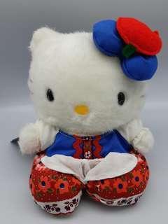 可愛類: 1999 日本限定荷蘭民族服 Hello Kitty 毛公仔