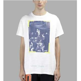 #STEAL# Off White Caravaggio Tee [XXS]