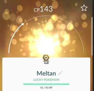 Pokemon Go meltan trade