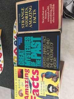 Assortment of Reader's Digest Books