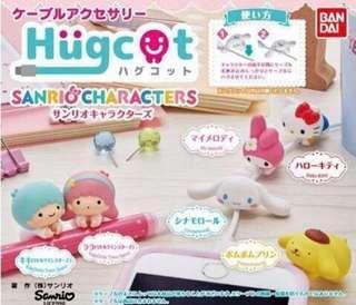 全新日本直送Hello Kitty Hugcot 扭蛋 (冇蛋殼and蛋紙)