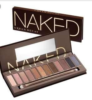 Urban Decay Naked Palette 100%New 連盒 冇單