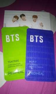 Mediheal x BTS sharing (A) 2 Masker+1 Photo