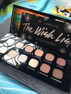 Bare Minerals The Wish List READY eyeshadow palette 眼影盤
