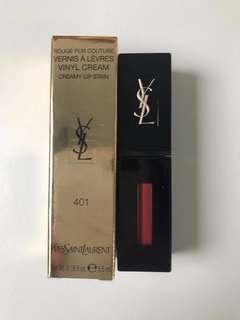 $215 Ysl vinyl cream lip stain 絕魅亮麗唇釉 #401 #402 🌹🌹🌹🌹🌹🌹