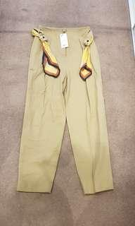 Mango pants with belt - Brand new with tags