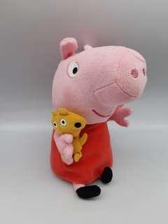 可愛類: Peppa pig粉紅豬 snort 毛公仔