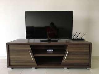 (Like-New) TV Cabinet, TV Rack