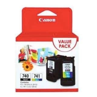 Genuine / Original Canon PG-740 & CL-741 Value Pack
