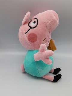 可愛類: Peppa pig粉紅豬 George毛公仔