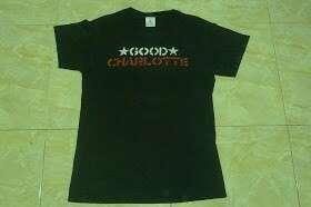 GOOD CHARLOTTE logo T-SHIRT