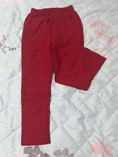 lativ 女童 5件一組 內磨毛長褲