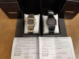 BNIB Casio Gshock GMW-B5000GD (Black)