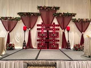 Oriental Wedding Decor / Styling