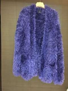 Asos 毛毛外套(彈性不分尺寸)