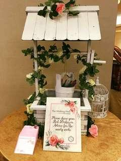 Wedding Well Wishes Table Styling