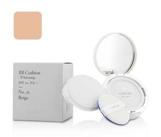 🈹💥❤️ Laneige BB Cushion Foundation (Whitening) SPF 50 With Extra Refill - # No. 21 Natural Beige 2x15g