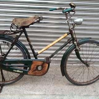 岡本牌 老鐵馬 老腳踏車 古董腳踏車