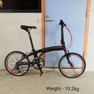 Litepro 9speed 20inch Folding Bicycle