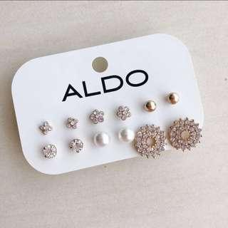 Aldo Winter Morning Earring Set