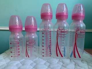 Dr. Browns Pink Bottles 防漲氣奶瓶奶樽