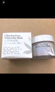 🈹 Coast to coast Ultra soothing white clay mask